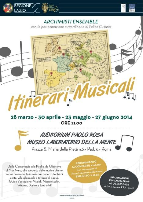 itinerari musicali